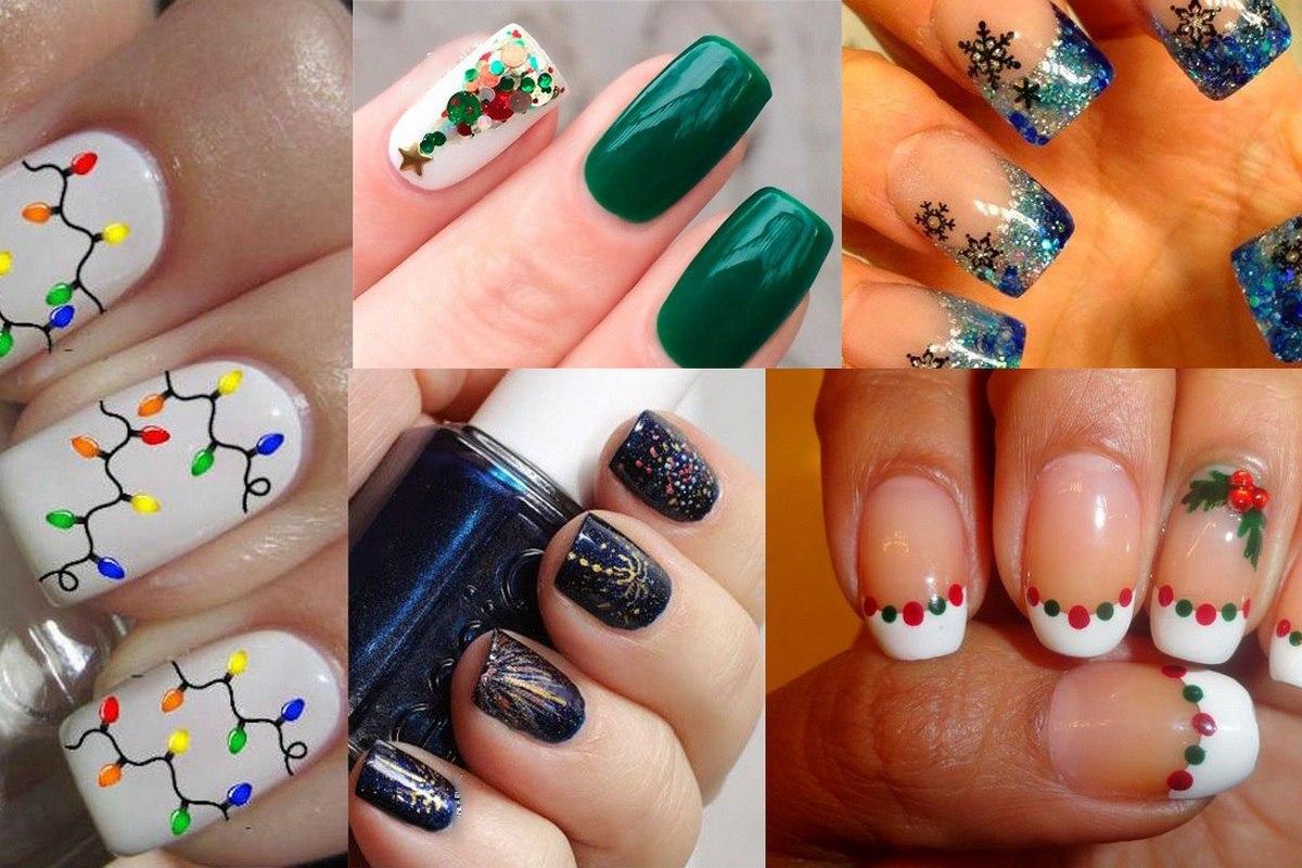 вот рисуем новогодние картинки на ногтях разгар отношений