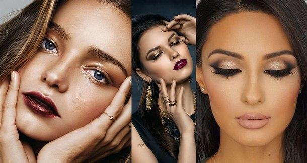 как сделать праздничный макияж