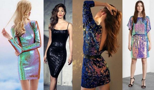 6ee582ceb9e Модные платья на Новый год 2019  фото новинок для девушек и женщин