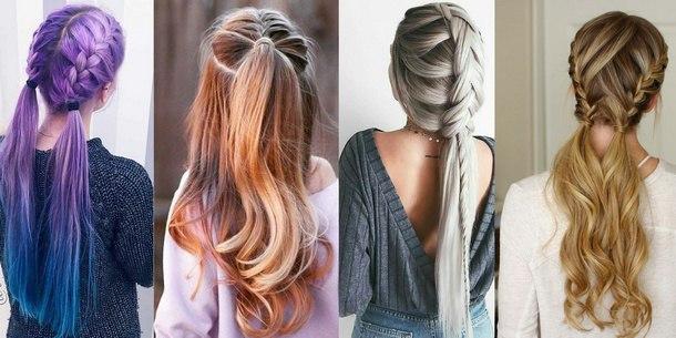 прически средние волосы новый год 2019