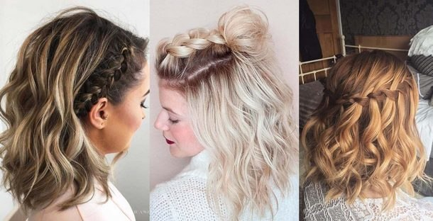 hairstyles at prom for long hair