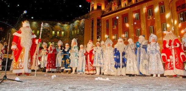 Тула Новогодняя столица мероприятия