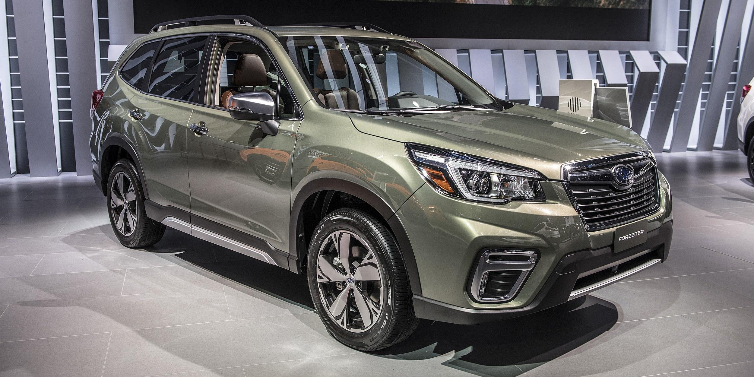 Subaru forester 2019 года - КалендарьГода