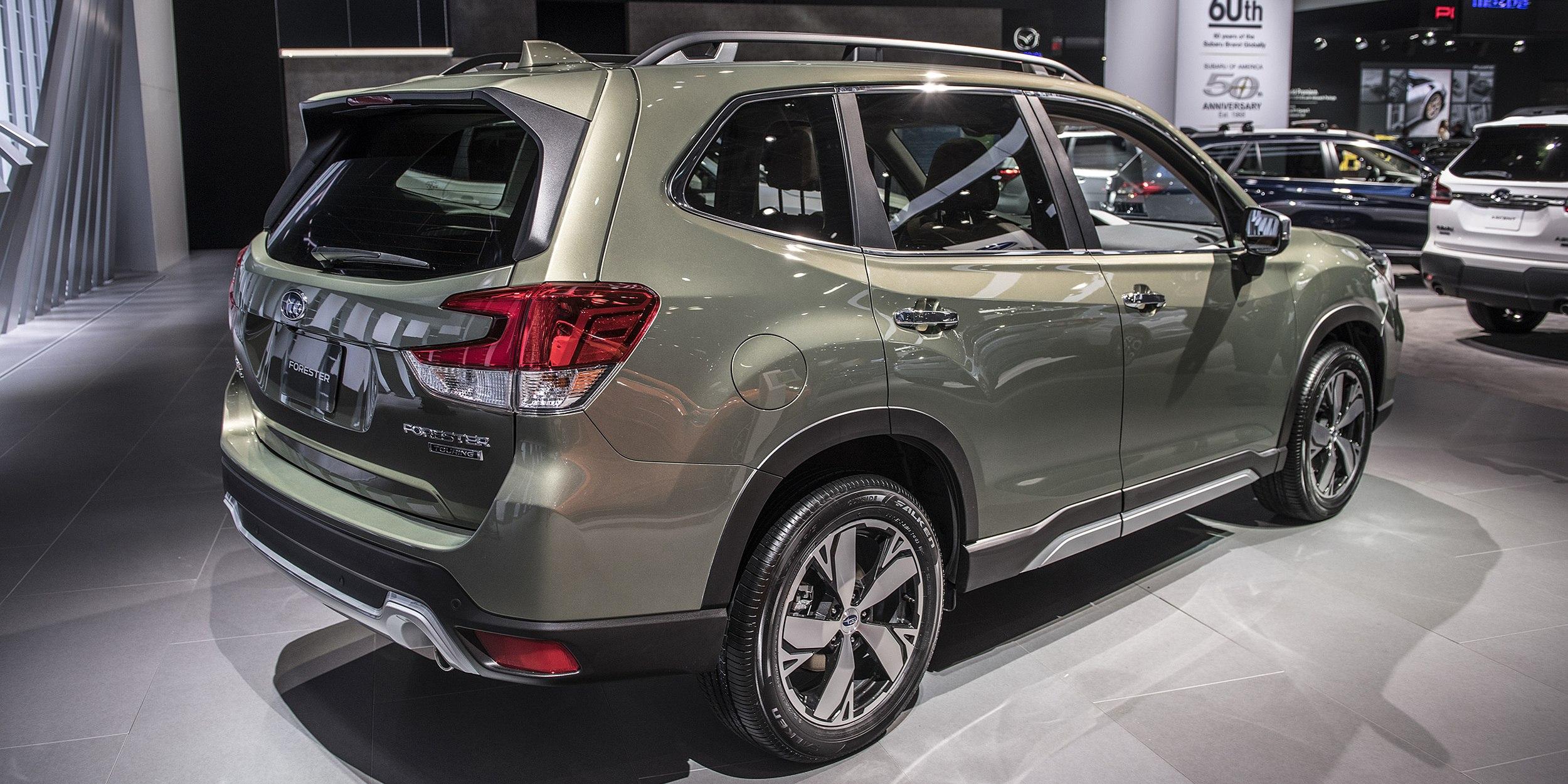 Subaru forester 2019 года - КалендарьГода в 2019 году
