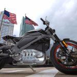 Электробайк Harley дизайн