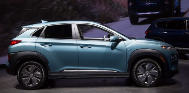 New Hyundai Kona Electric 2019: photos, price and specifications kits in Russia