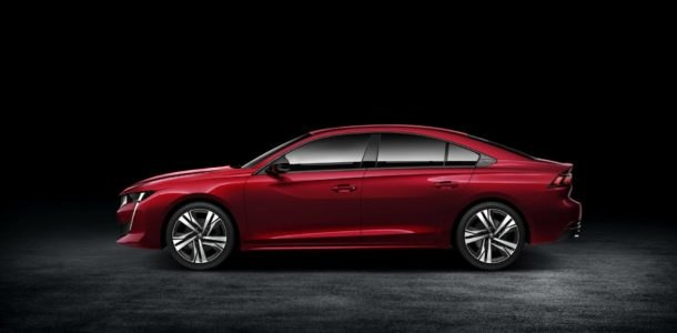 Peugeot 508 restyled 2019