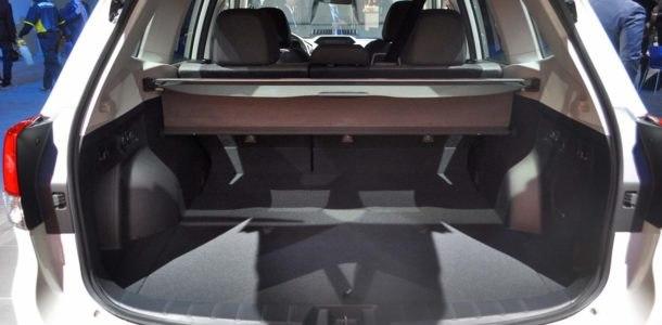 Subaru Forester 2019 салон