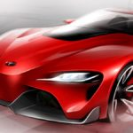 рестайлинг Toyota Supra
