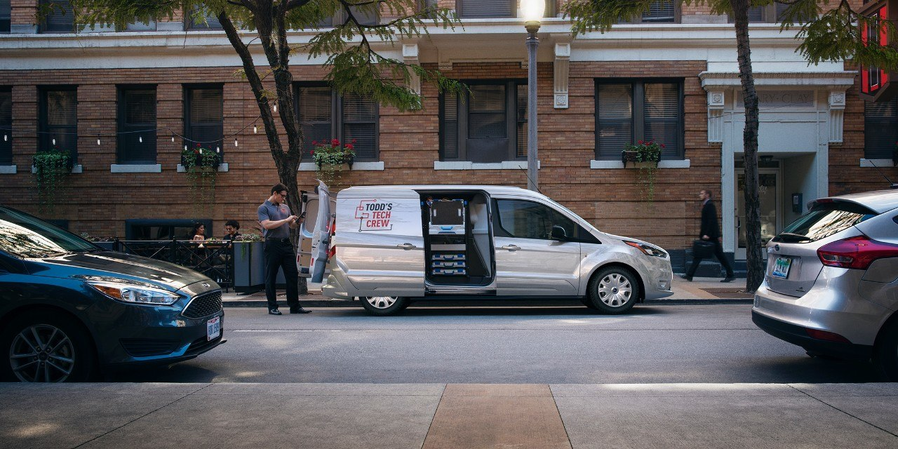 Новый ford transit connect 2019 года - КалендарьГода
