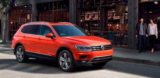 model 2018 Volkswagen Tiguan