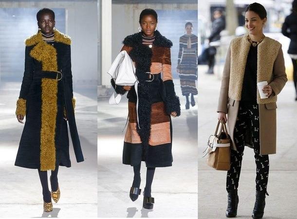 Fashionable women's coats 2019: photos, winter trends