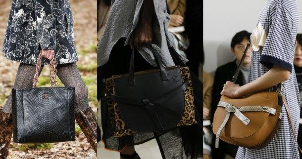 сумки модные формы и цвета