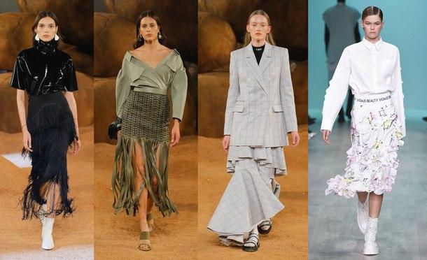 модные фасоны юбок