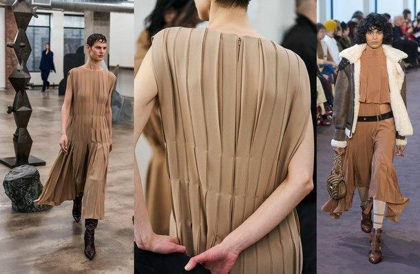 модные платья осень 2019 тенденции