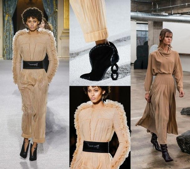 модные женские платья осень