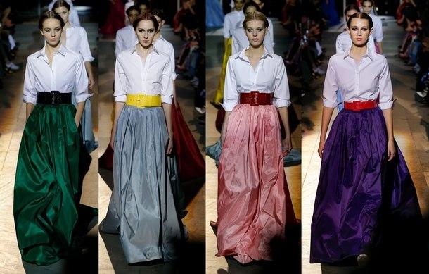 модные платья осень 2019 фото