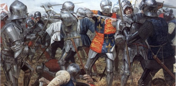 the war of white and scarlet roses;