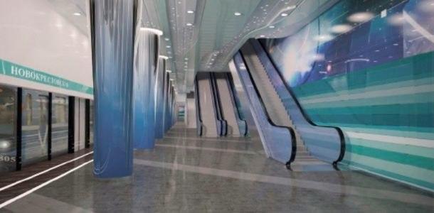 новая станция на карте метро Санкт-Петербурга 2019 года