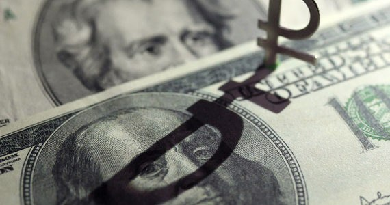 рубль и доллары