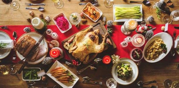 праздничный стол на Сочельник