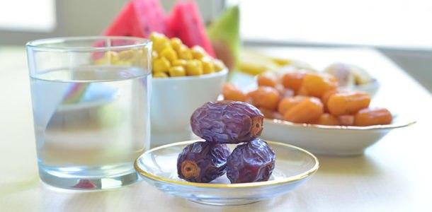 первый прием пищи в Рамадан 2019