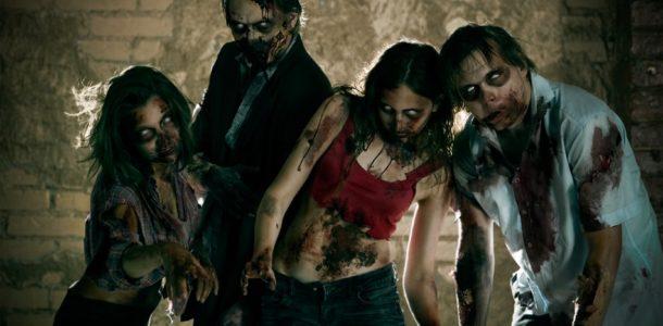 Halloween zombie look in 2019