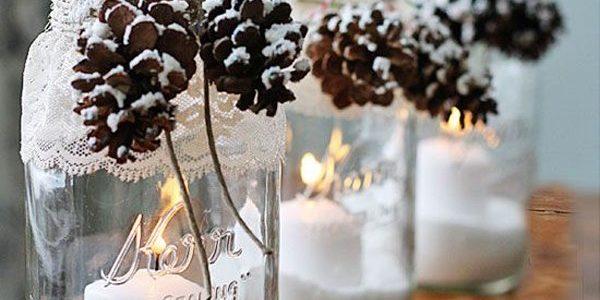 Новогодние украшения из шишек 2019 для дома своими руками