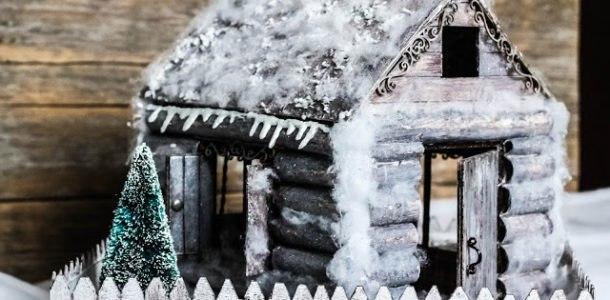 дом из палочек