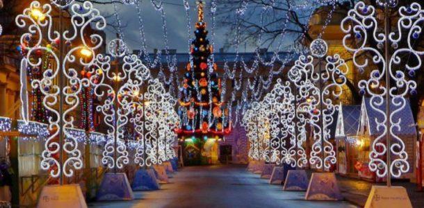 Рождественские ярмарки 2019 в Санкт-Петербурге