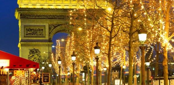 Новый год 2019 в Париже