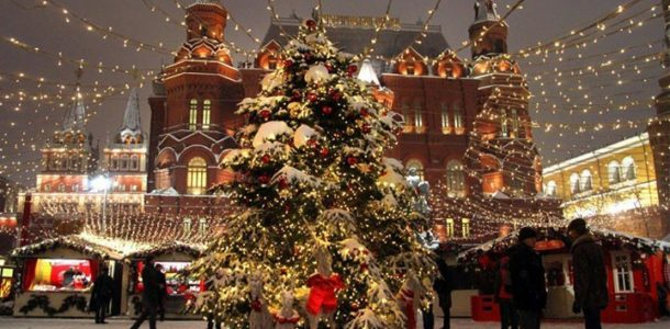 Новогодние ярмарки 2019 в Москве