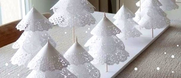 Новогодние украшения из бумаги на Новый год 2019