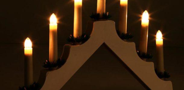 Панно со свечами