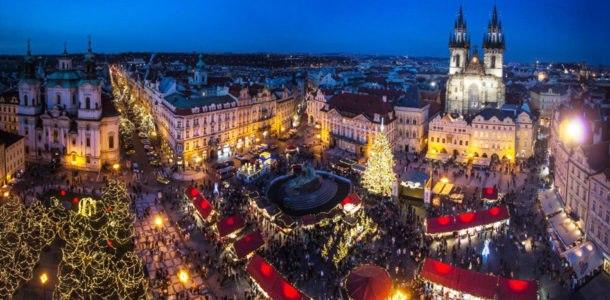 Прага на Новый год 2019