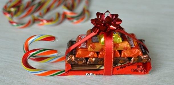 Подарки из конфет своими руками на Новый год 2019