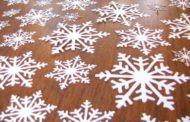 Трафареты снежинок для вырезания к Новому 2019 году Свиньи