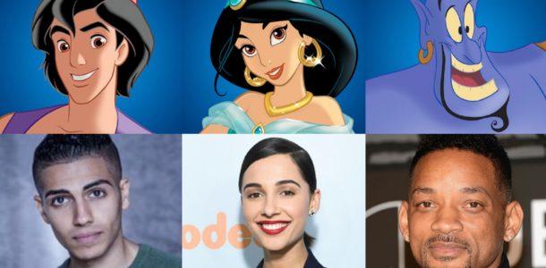 Актеры играющие персонажей Аладина