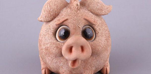 статуэтка свинка