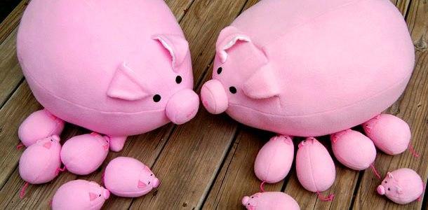 Игрушки свинки