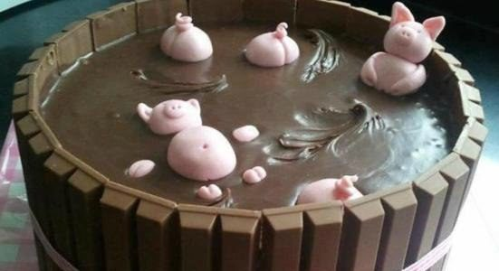 Торт на Новый 2019 год Свиньи