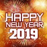 открытка новый год 2019 на англ
