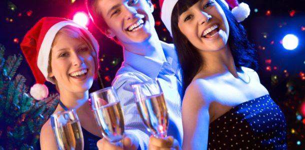 вечеринка на новый год