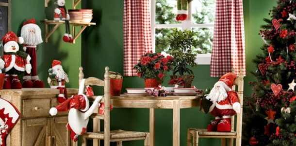 новогодний декор в комнате