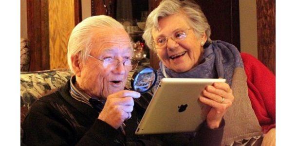 родители за планшетом