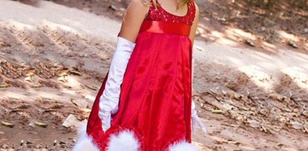 Платья к Новому году для маленьких девочек
