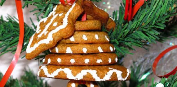 печенье на елку