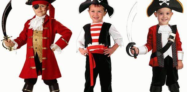 костюм пирата на мальчиках