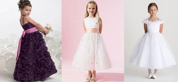 Новогодние платья для девочек в 2019 году