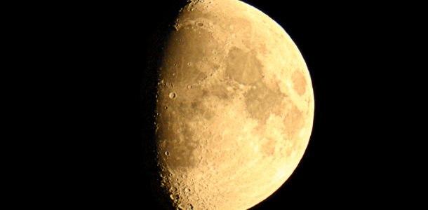 большая растущая луна